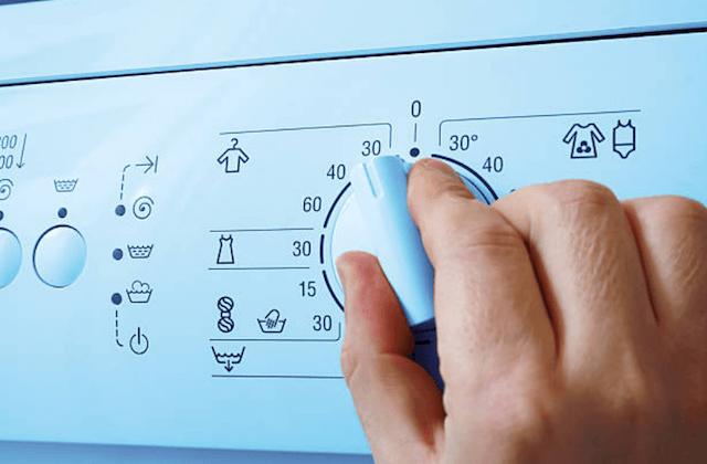 clothes dryer controls